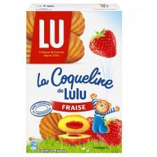 LU Coqueline Fraise (Strawberry Jam Cookies) 165g/5.82oz