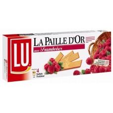LU Paille Dor Framboise (Raspberry Jam Cookies) 170g/5.99oz