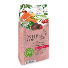 "Marmalade Glazed ""Zhyvye Konfety"" Cherry, Orange 150g (Sugar FREE)"