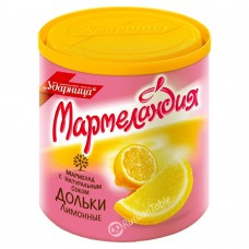 "Marmalade Slices ""UDARNITSA"" Lemon (with Natural Juice) 250g"
