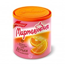 "Marmalade Slices ""UDARNITSA"" Orange with Natural Juice 250g"