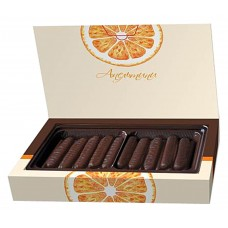 "Marmalade sticks ""UDARNITSA"" Apeltini (Orange) 160g"