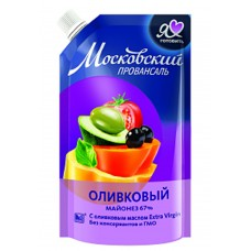 "Mayonnaise ""Moscow Provansal"" Olive 390g"