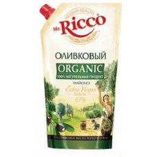 "Mayonnaise ""Mr. Ricco"" Olive Oil 400ml"