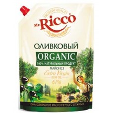 "Mayonnaise ""Mr. Ricco"" Olive Oil 800ml"