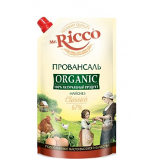 "Mayonnaise ""Mr. Ricco"" Provansal Classic 800ml"