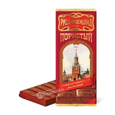 """Milk Aerated Chocolate ""Russkiy Shokolad"" (Russian Chocolate)"""