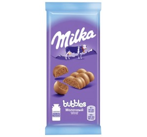 """Milka"" Milk Aerated Chocolate bar"