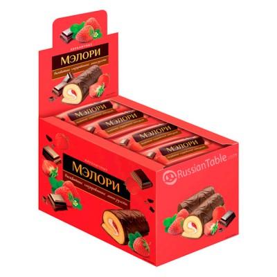 "Mini roll ""Melory"" w/Strawberry 40gr"