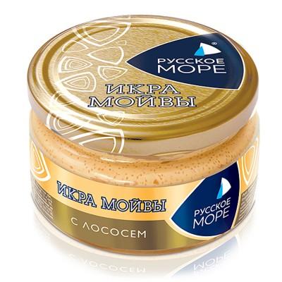 """Moiva (Capelin) Caviar Spread """"Russkoe More"""" with Salmon"""