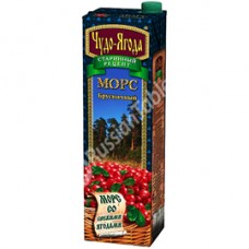 "Mors ""Miracle Berries"" (Chudo-Yagoda) Cowberry 950ml"