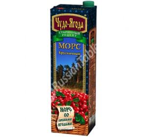 "Mors ""Miracle Berries"" (Chudo-Yagoda) Cowberry 950ml"