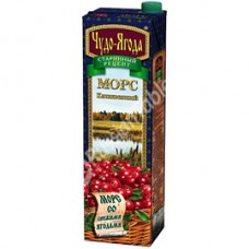 "Mors ""Miracle Berries"" (Chudo-Yagoda) Cranberry 950ml"