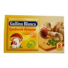 "Mushroom Bouillon ""Gallina Blanca"" 8 Cubes"