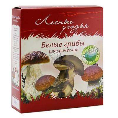 "Mushrooms ""Lesnyye ugodya"" classic Porcini white mushrooms"