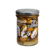 "Mussles Smoked In Oil ""Dalpromryba"" 200g"