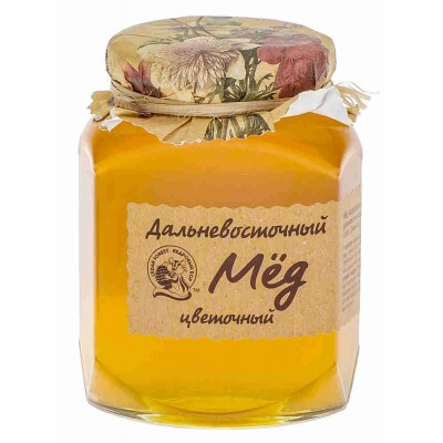"Natural Honey ""Kedrovyi Bor"" Fareastern Flower 500g"