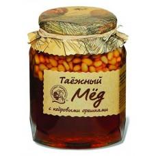 "Natural Honey ""Kedrovyi Bor"" with Pine Nuts 500g"