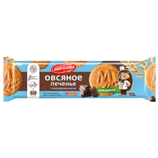 "Oatmeal Cookies ""MOROZOVA"" Classic Glazed 245g"