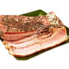 Pork Salo (Bacon) with Black Pepper 1lb