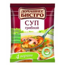 "Russian Soup ""Bistro"" with White Mushroom"