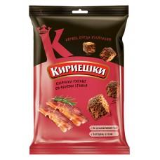 "Rye-wheat croutons ""Kirieshki"" with bacon flavour 100g"
