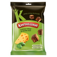 "Rye-wheat croutons ""Kirieshki"" with cheese flavour 100g"