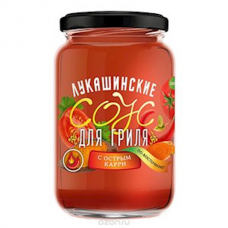 "Sauce ""Lukashinskie"" for Grill (with Spicy Curry) 365g"