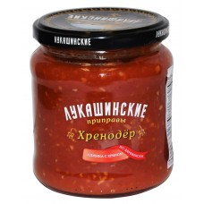 """Sauce """"Lukashinskie"""" Hrenoder Village style 460g"""