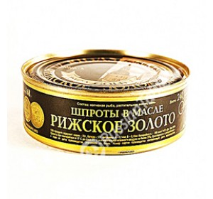 "Sprats in Oil ""Riga Gold"" 240 g"