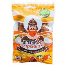 "Сroutons ""Bogatyrskiye"" garlic and salt 80g"