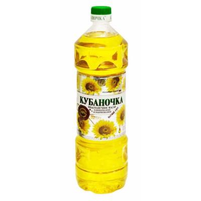 "Sunflower oil ""Kubanochka"" Refined"