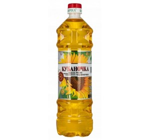 "Sunflower oil ""Kubanochka"" Unrefined"