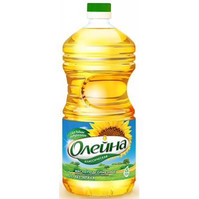 "Sunflower Oil ""Oleina"" Refined Classic 2L"