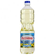 "Sunflower oil ""Rossiyanka"" Refined 1L"