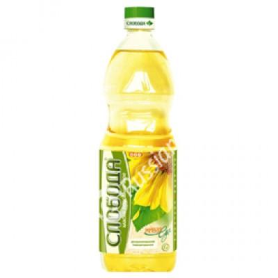 """Sunflower oil """"Sloboda"""" refined 1L"""