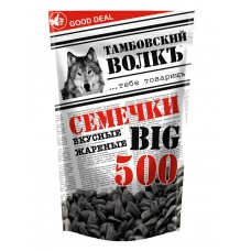 "Sunflower seeds ""Tambov wolf"" delicious, fried 500 g"