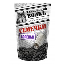 "Sunflower seeds ""Tambov wolf"" salted"