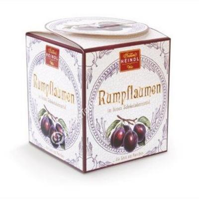 "Sweets ""Heindl"" Rumpflaumen (Rum Plum) covered with dark chocolate 150g"