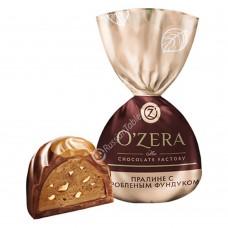 """Sweets """"Ozera"""" with crushed hazelnut"""