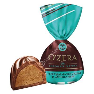 "Sweets ""Ozera"" With crushed Hazelnut and Almond"