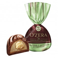 "Sweets ""OZera"" with whole hazelnuts"
