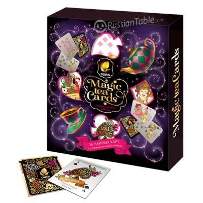 "Tea Curtis ""Magic Tea Cards"" 36 sachets"