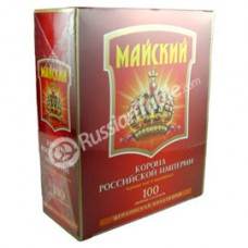 """Tea ""Korona Rossiyskoi Imperii"" (Crown of the Russian Empire) 100 Double Bags"""