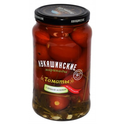 """Tomatoes Astrahan style """"Lukashinskie"""" with Spicy greens 1.5L"""