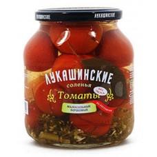 "Томаты ""Лукашинские"" lightly salted Rostov style 670g"