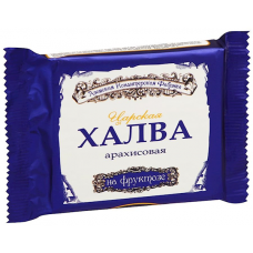 """Tsarskaya"" halva with peanut on fructose"