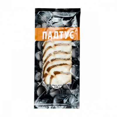 "Turbot (Paltus) ""Oliva-Fakel"" Cold Smoked Fillet (sliced) 150g"