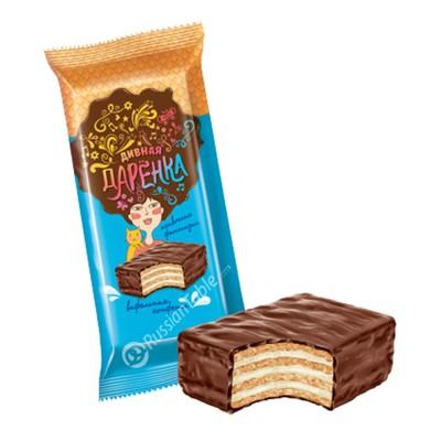 "Wafer Sweets ""Divnaya Darenka"" Cream Filling"