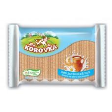 """Wafers Bars """"Korovka"""" Baked milk taste 225 g"""